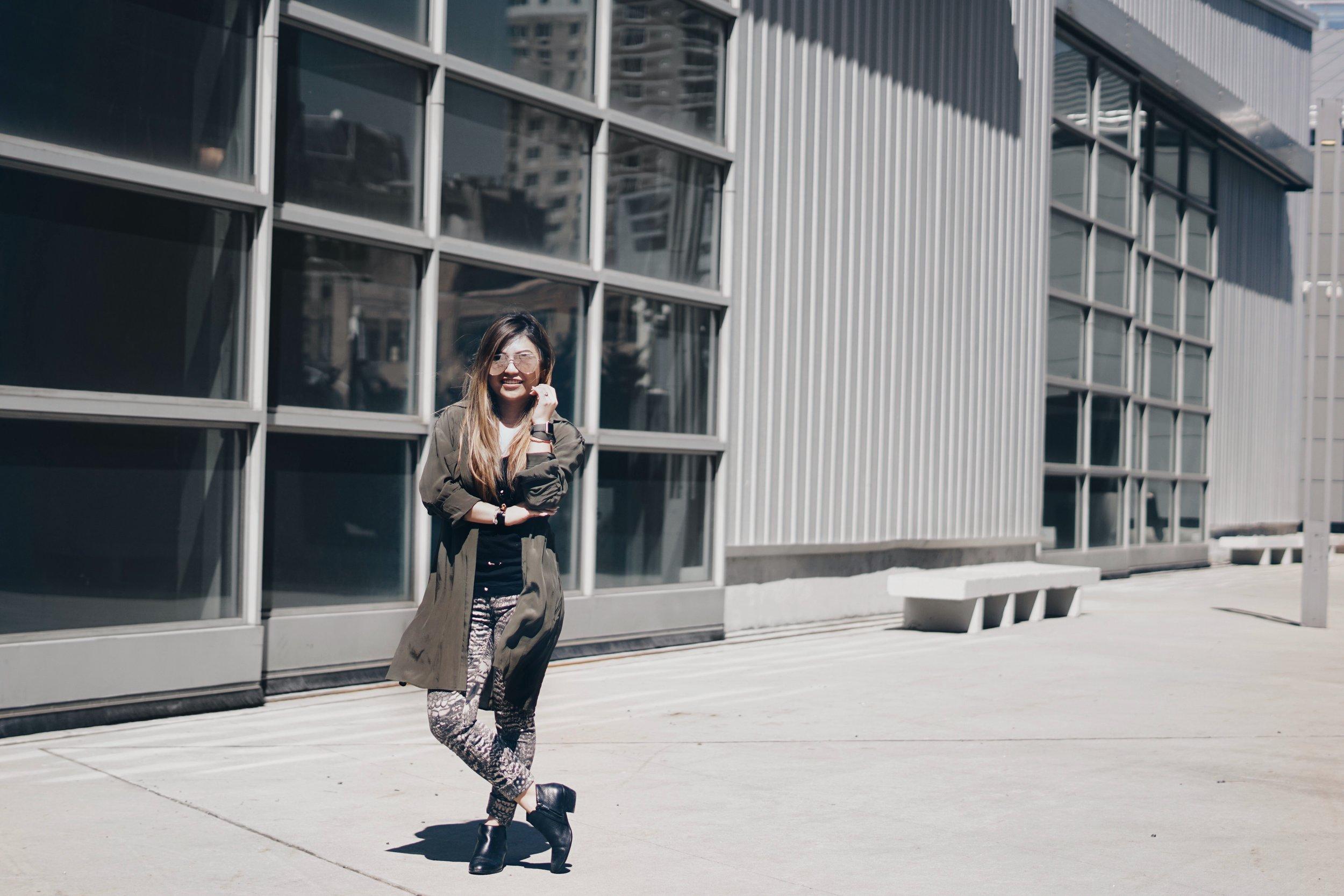 risa xu NYC petite blogger rag & bone chelsea flower