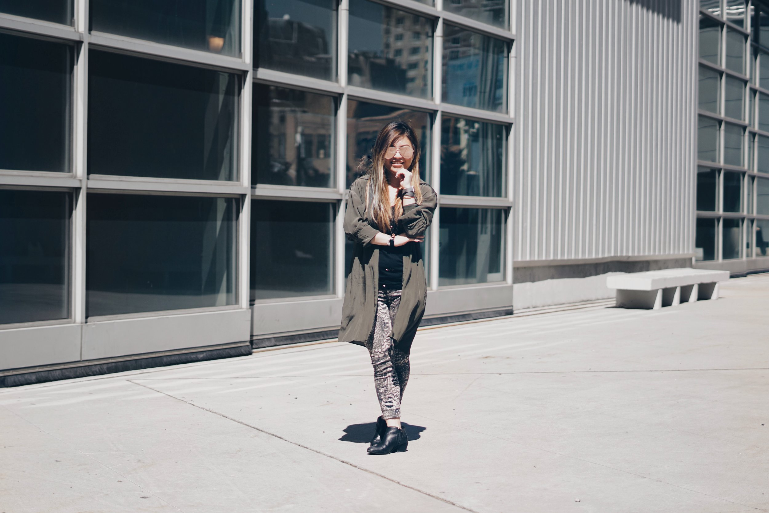 risa xu petite NYC blogger outfit