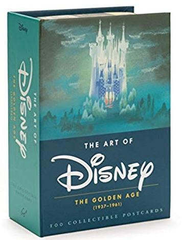 The Art of Disney The Golden Age Collectible Postcards