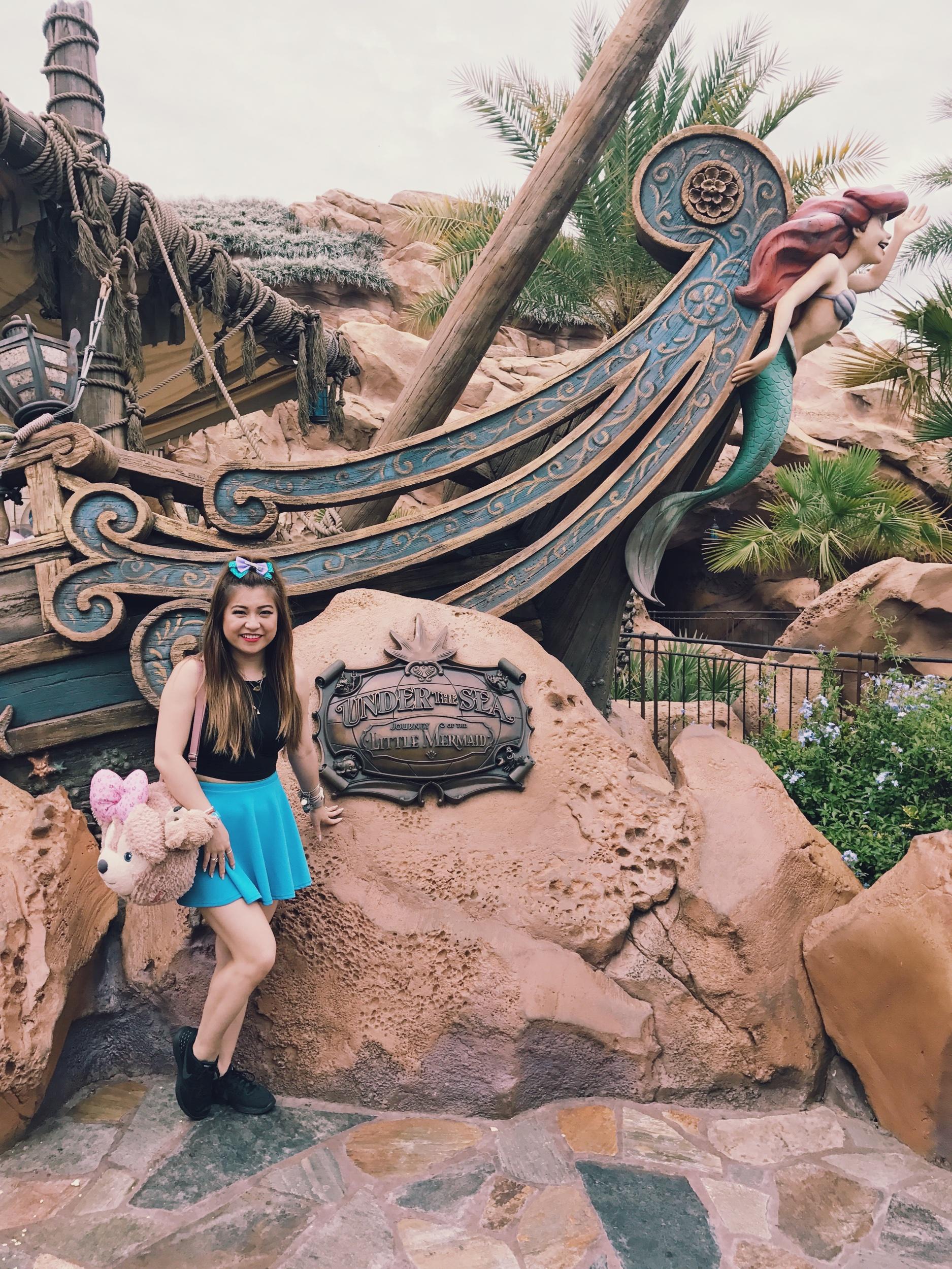 risa xu little mermaid disneybound