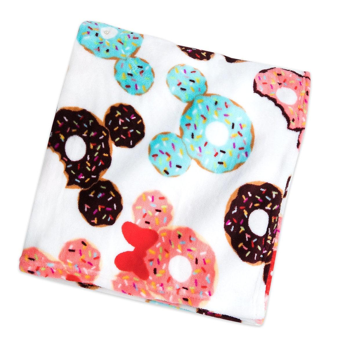 shop disney mickey and minnie donut blanket