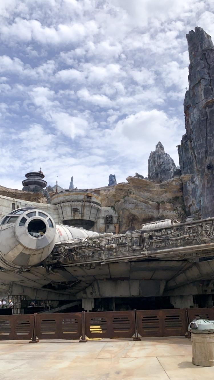 risa xu millennium falcon galaxy's edge disney world