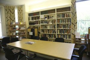 - The Latin American Centre's library is made up of two rooms - one of which was the classroom for the course. I spent some afternoons using the public opinion survey databases available here.