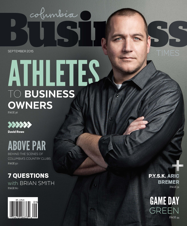 Sample of the magazine I designed. Pretty cool for a biz magazine, right?