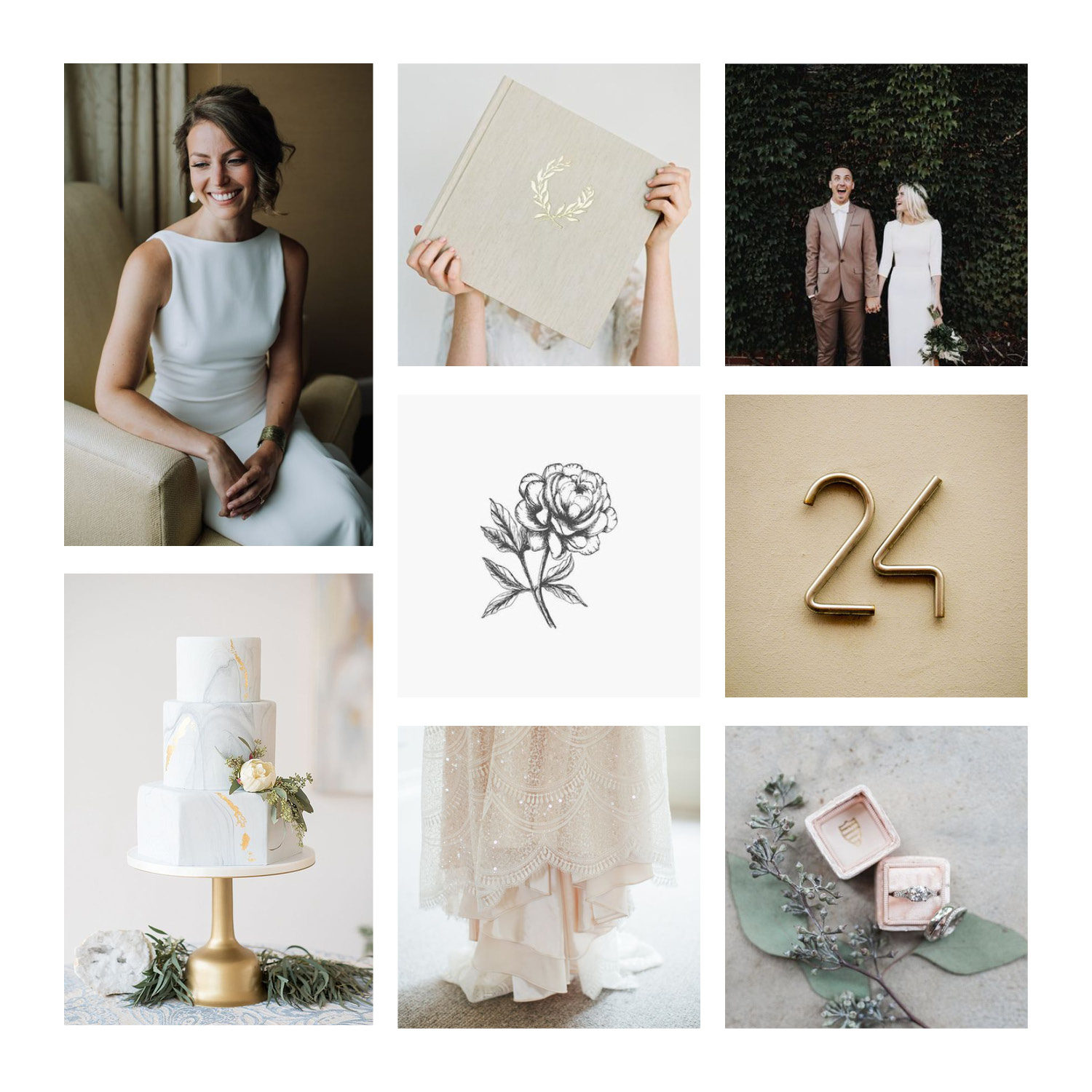 Hollyberry Studio Mood Board by Gillian Tracey Design