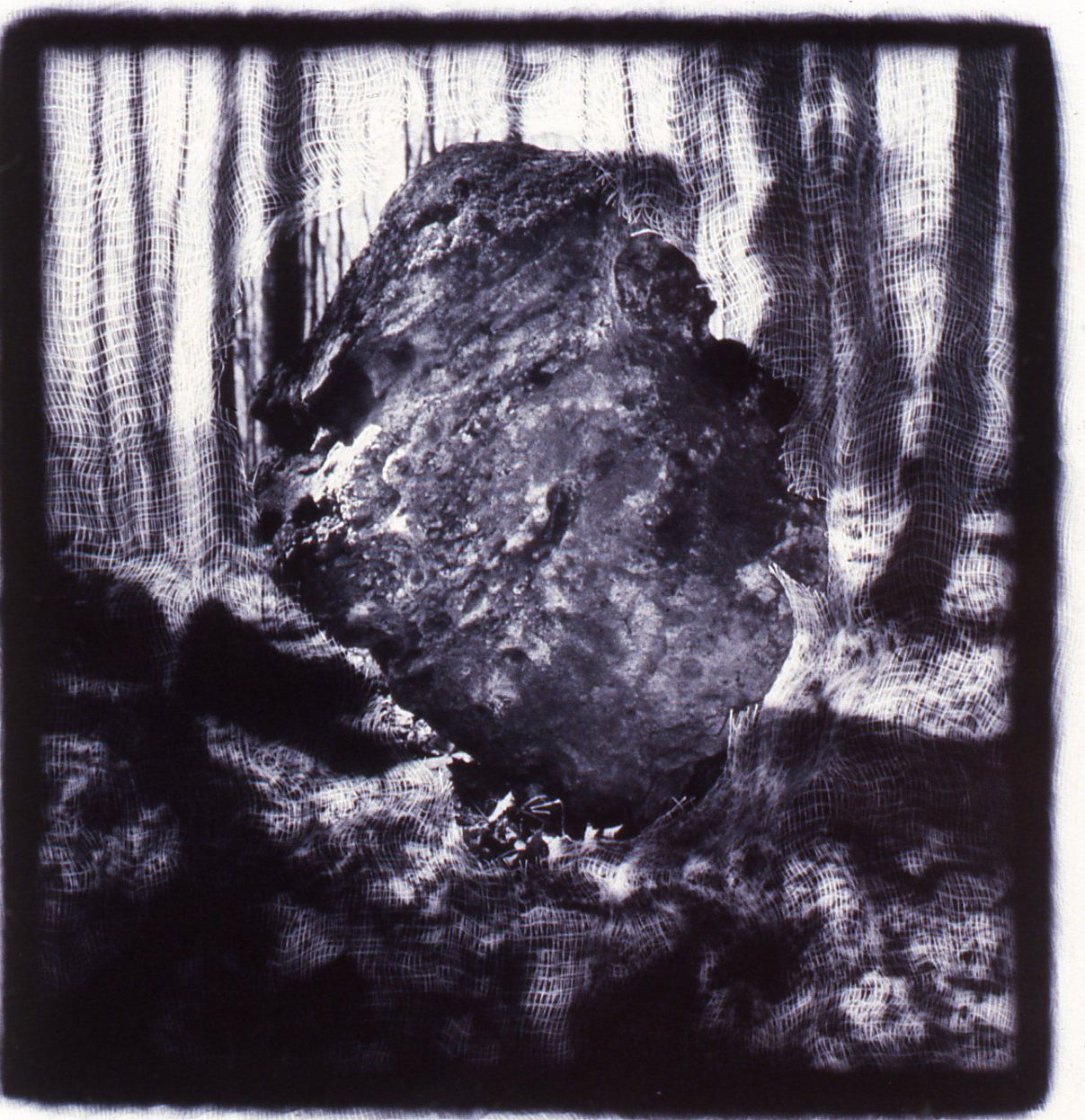 Passages Keystone,   Gelatin Silver print, 10x10 inches, 1989-1990, unique print
