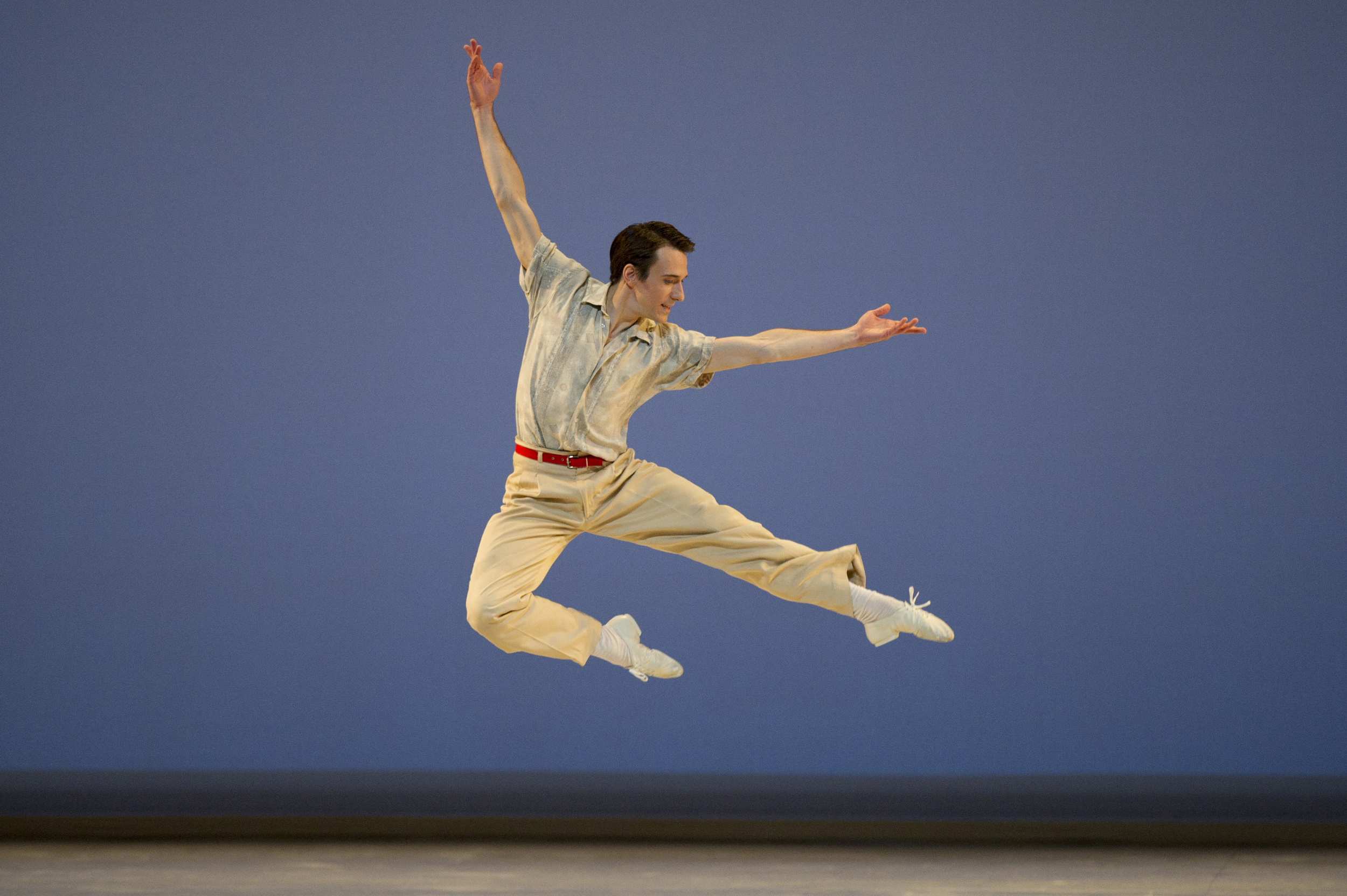James Sofranko in Paul Taylor's Company B. Photo by Erik Tomasson.