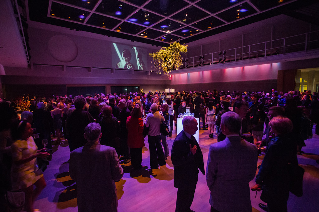 The DanceFAR after party at the Yerba Buena Forum.