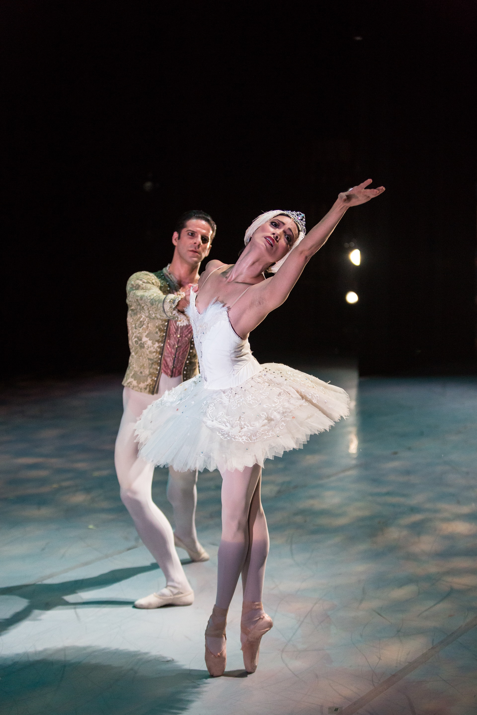 Marcelo Gomes and Stella Abrera of American Ballet Theatre. photo by Alex Reneff-Olson