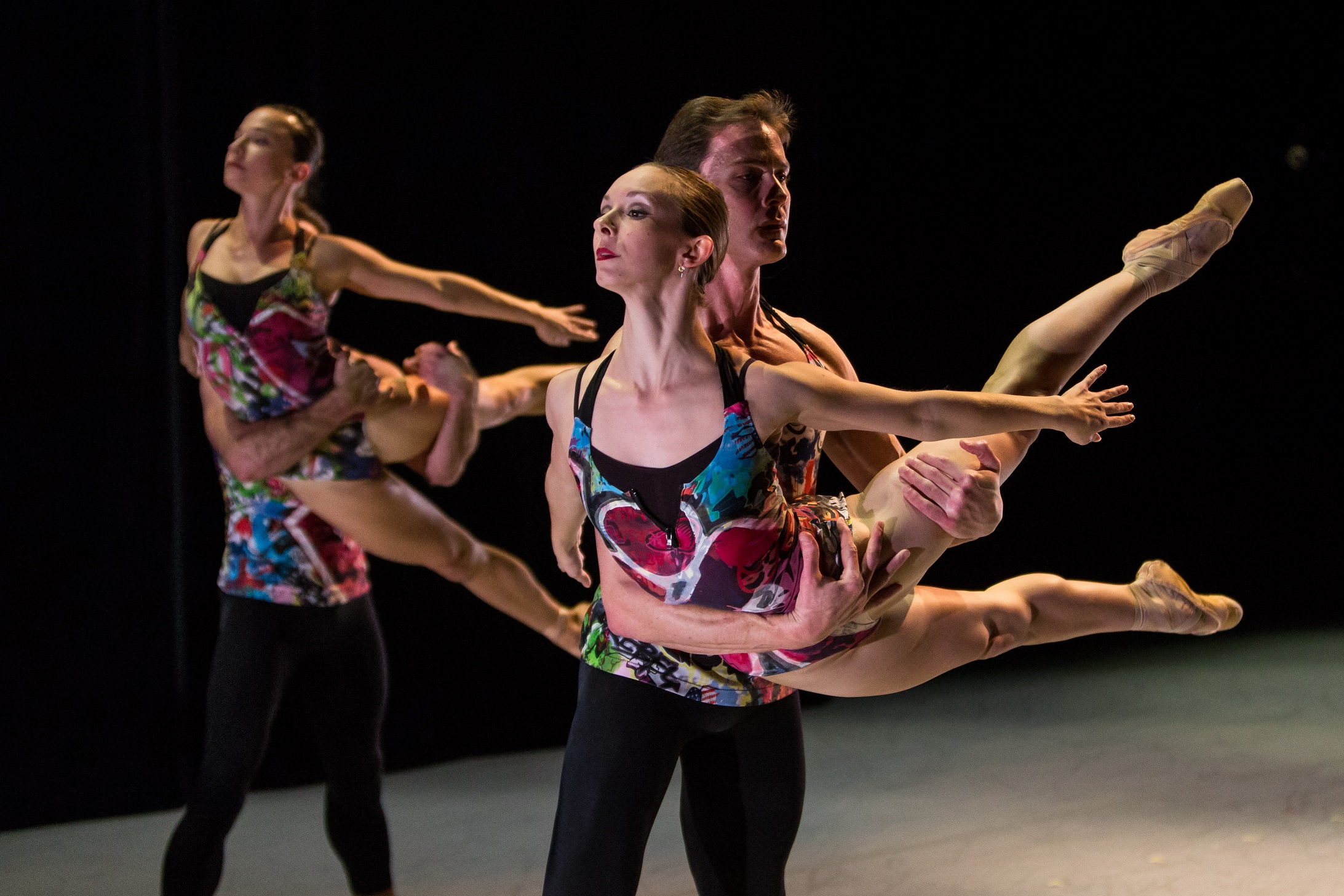 Rachel Furst and Robert Moore of Smuin Ballet, photo Alex Reneff-Olson