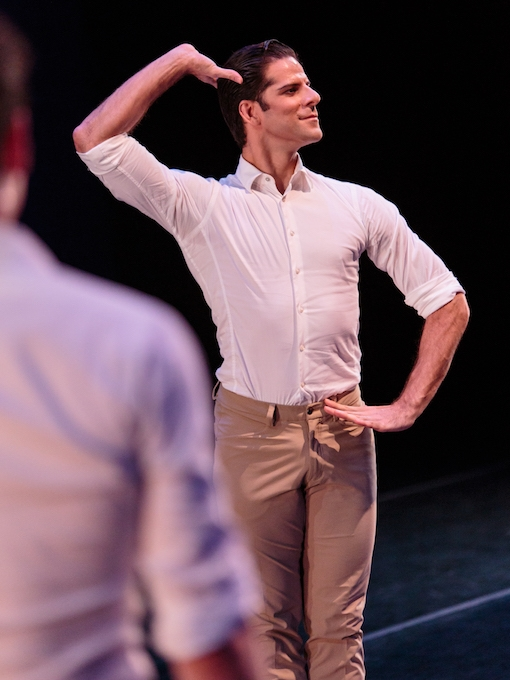 Marcelo Gomes of American Ballet Theater in his own work, Tristesse. photo: Alex Reneff-Olson