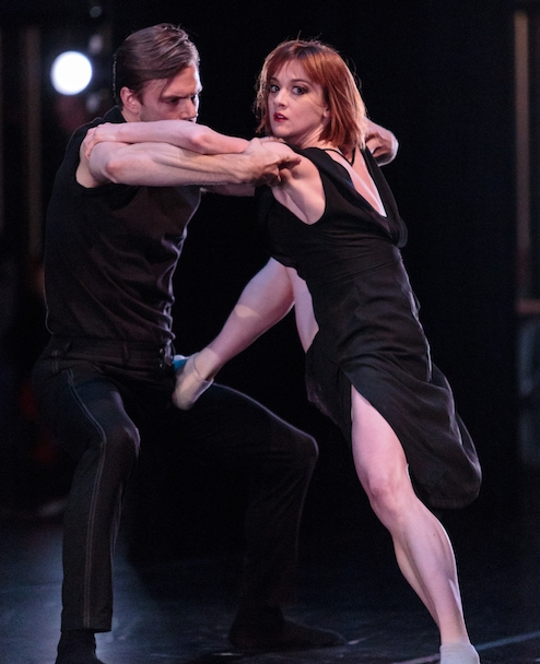 Laura O'Malley and Brett Conway of SFDanceworks in Danielle Rowe's world premiere  For Pixie .photo: Alex Reneff-Olson