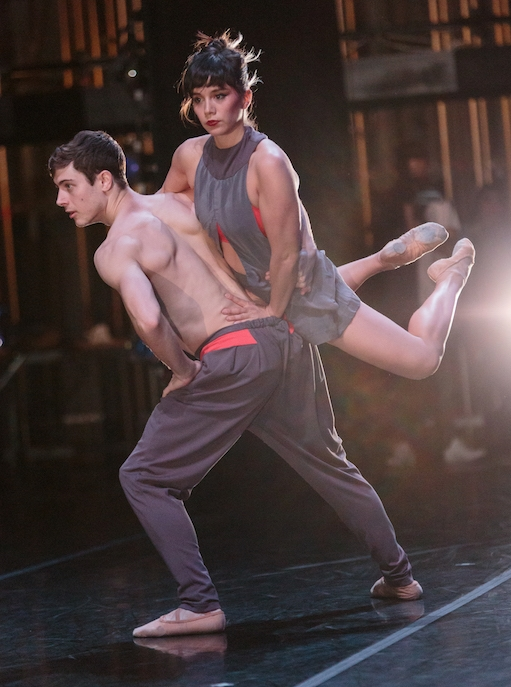 Natasha Adorlee Johnson and Alec Guthrie of ODC/Dance in Kate Weare's  Giant .photo: Alex Reneff-Olson