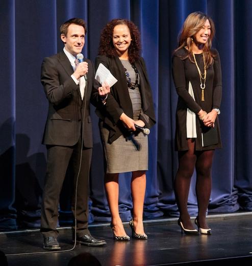 DanceFAR co-founder James Sofranko with CPIC board members Louisa Gloger and Joy Boatwright.photo: Alex Reneff-Olson