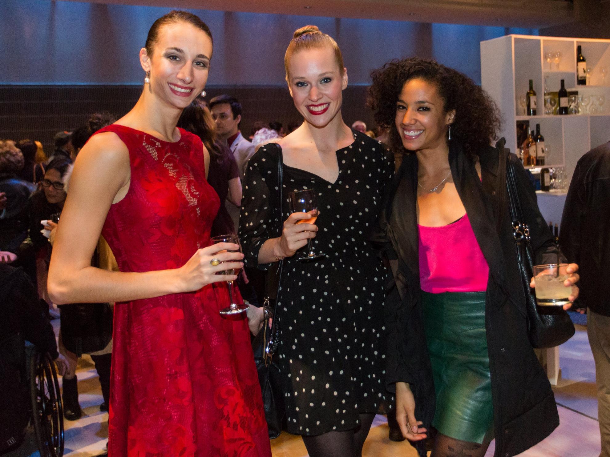 Ilaria Guerra, Jordan Drew, and Kimberly Olivier. photo: Alex Reneff-Olson