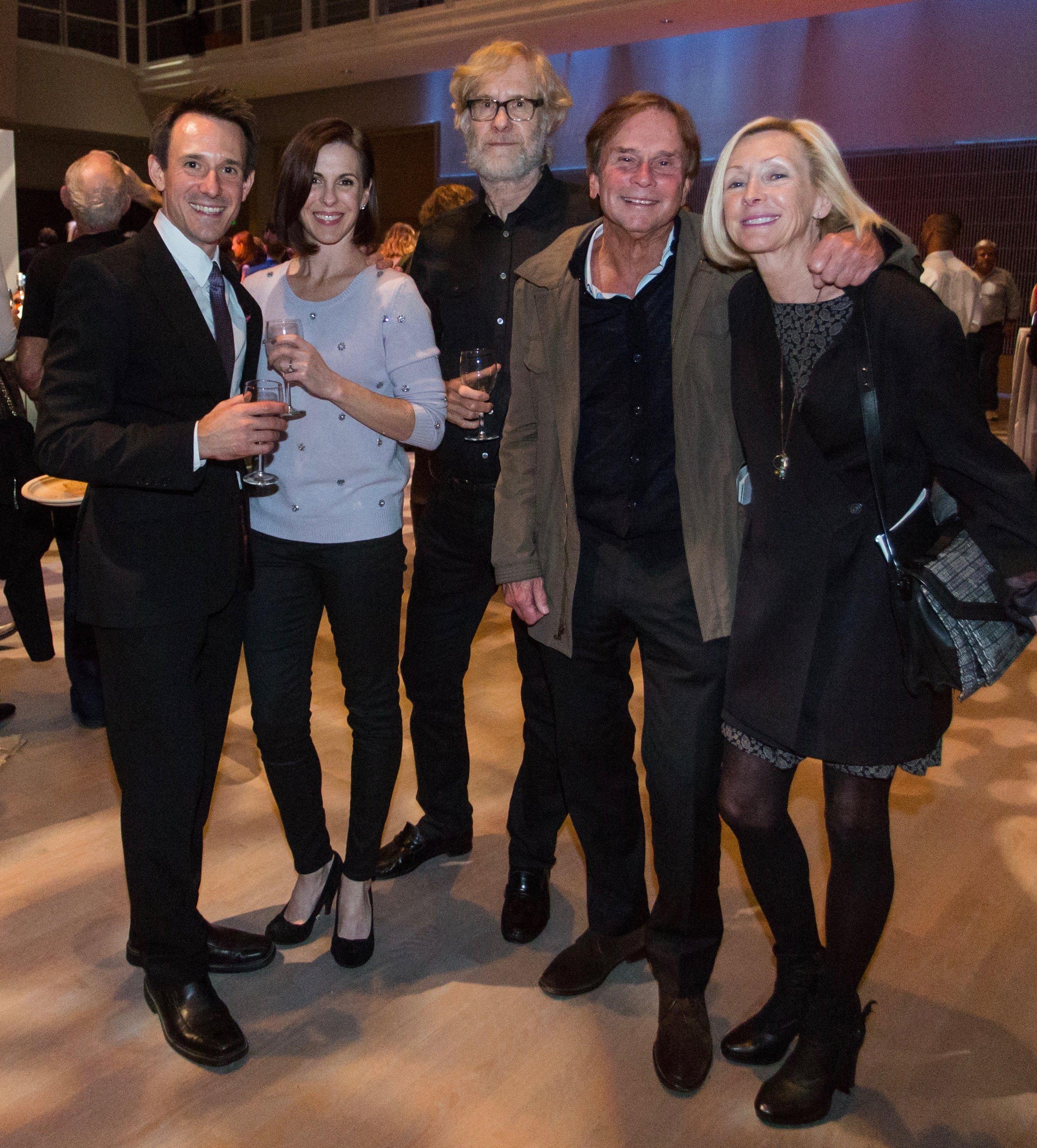 DanceFAR co-founder James Sofranko, Cynthia Sheppard Sofranko, John Kerns, Tim Streb, Myra Gamble