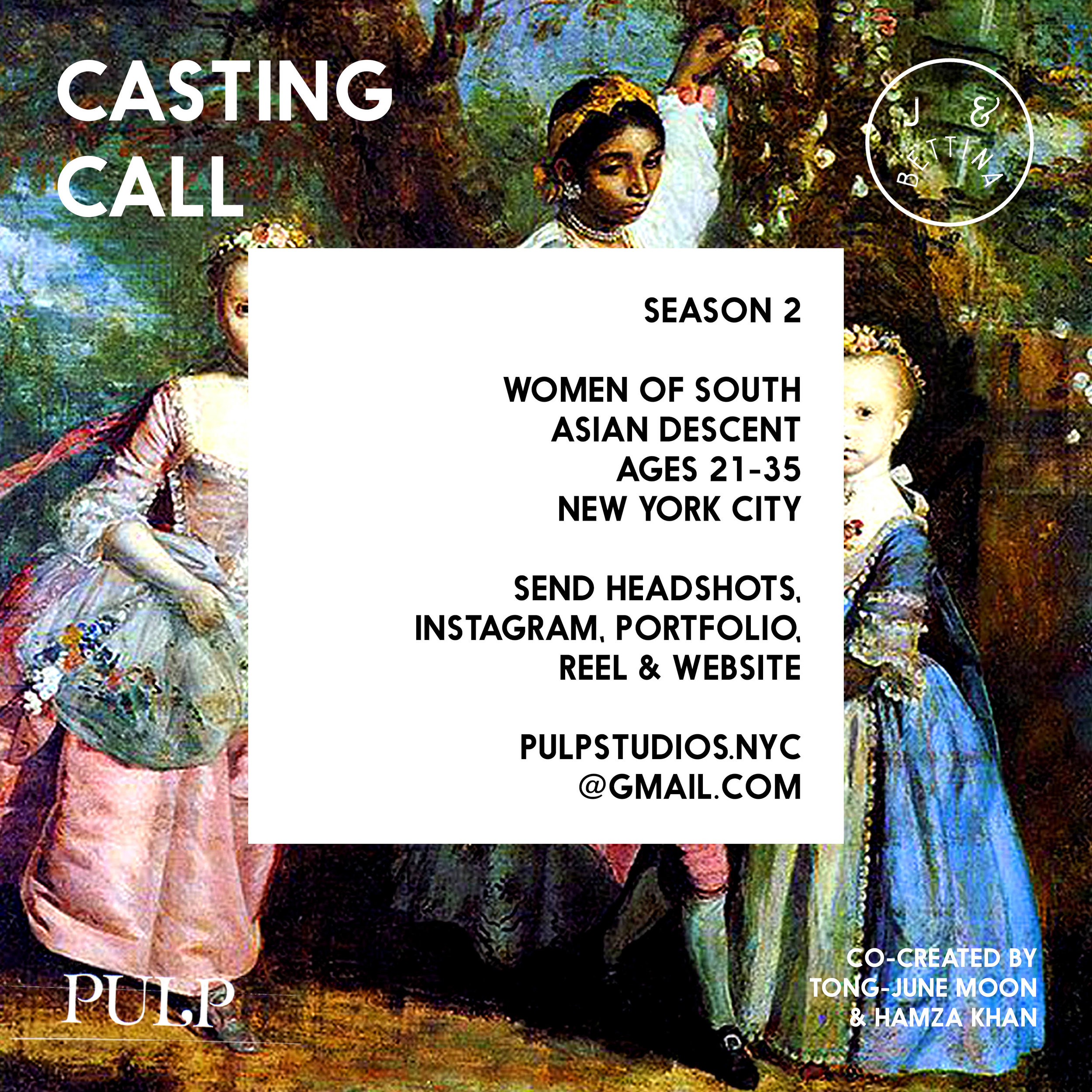 J & Bettina - Season 2 - Casting Call Flyer R.jpg