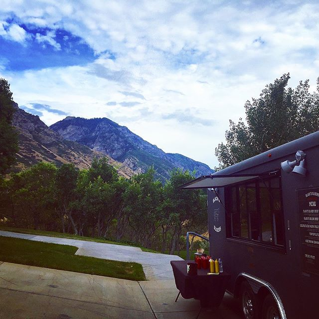 Sometimes you just gotta stop for a moment and take in the beauty around us! Utah, we are the lucky ones... #blackssliders #utahfoodtrucks