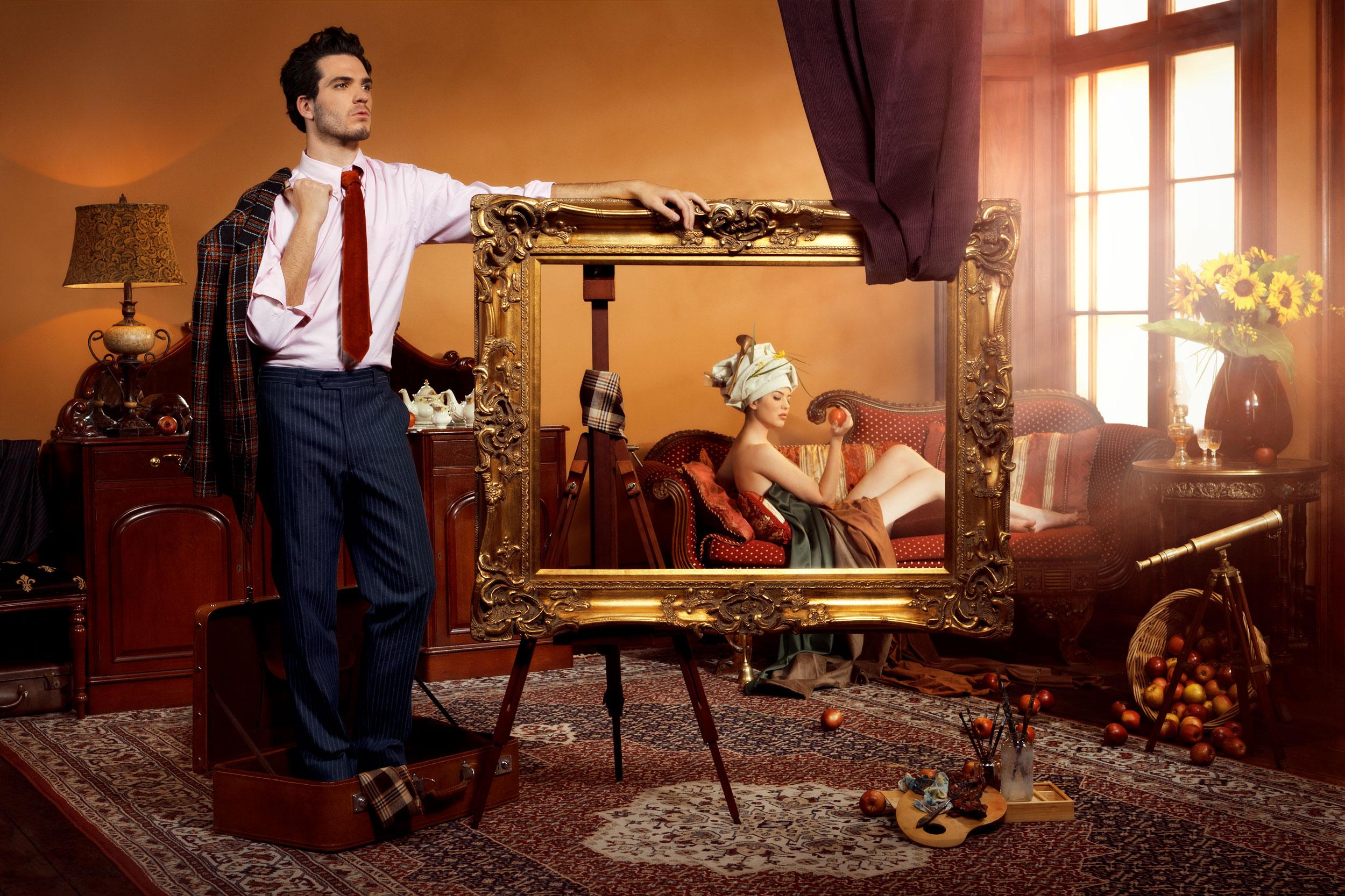 Man in a Suitcase: Artist