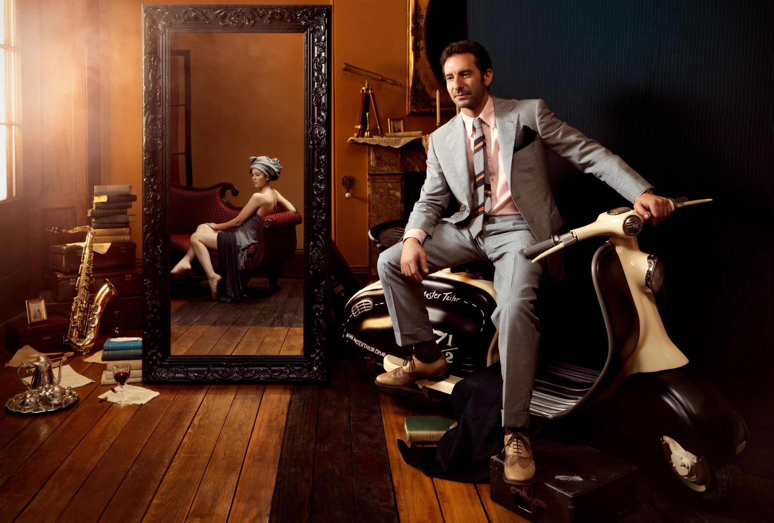 Man in a Suitcase:  Designer