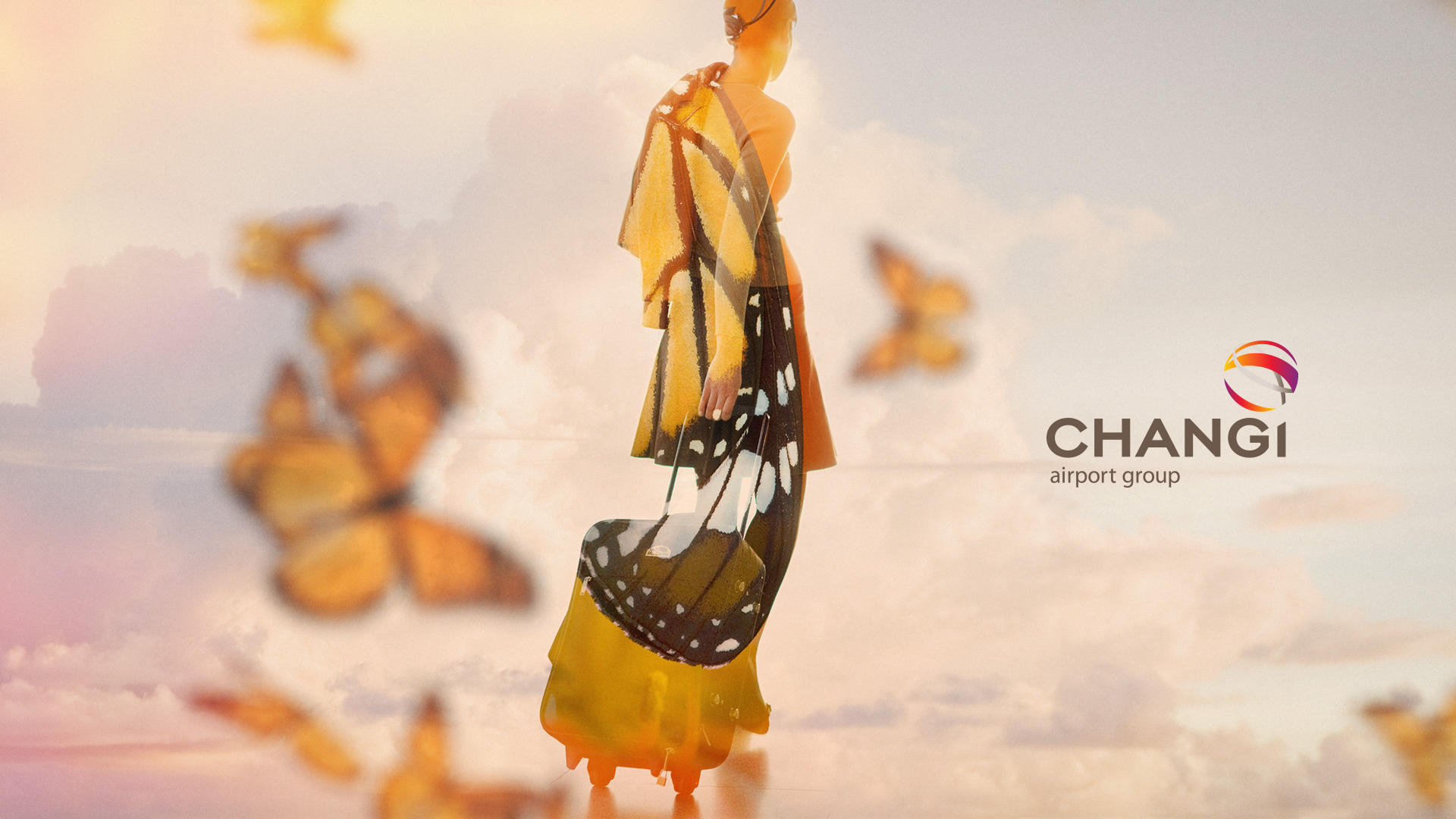 Changi Airport  Brand campaign, visual treatment.
