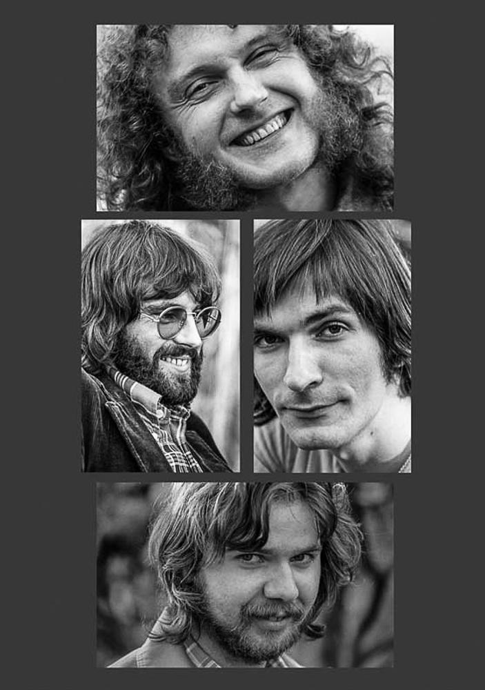 Joseph Jesch, Joachim Kupke, Eio Pfleiderer,  Jürgen Uppenthal   photo: 1981©Helmut Bail