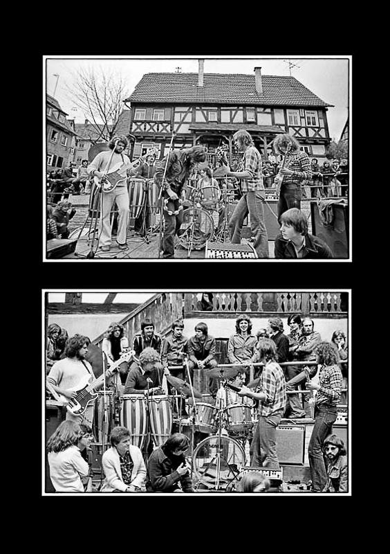 Sindelfingen, end of 70s   Herbert Renz, Werner Schumacher, Joachim Kupke, Bernd Steiner, Bernd Ankes, Joseph Jesch photo: 1978©Helmut Bail