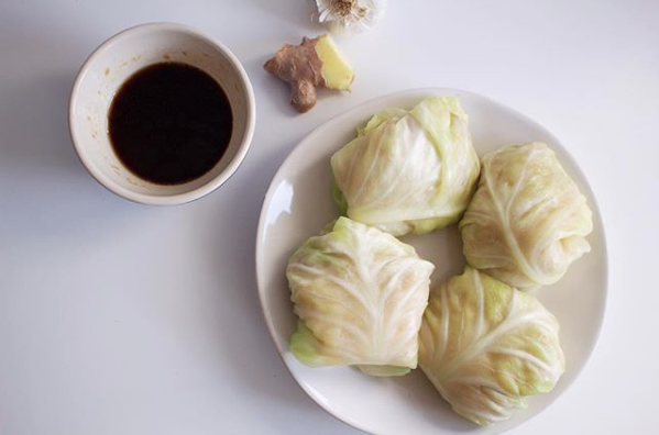Chicken & Cabbage Dim Sum