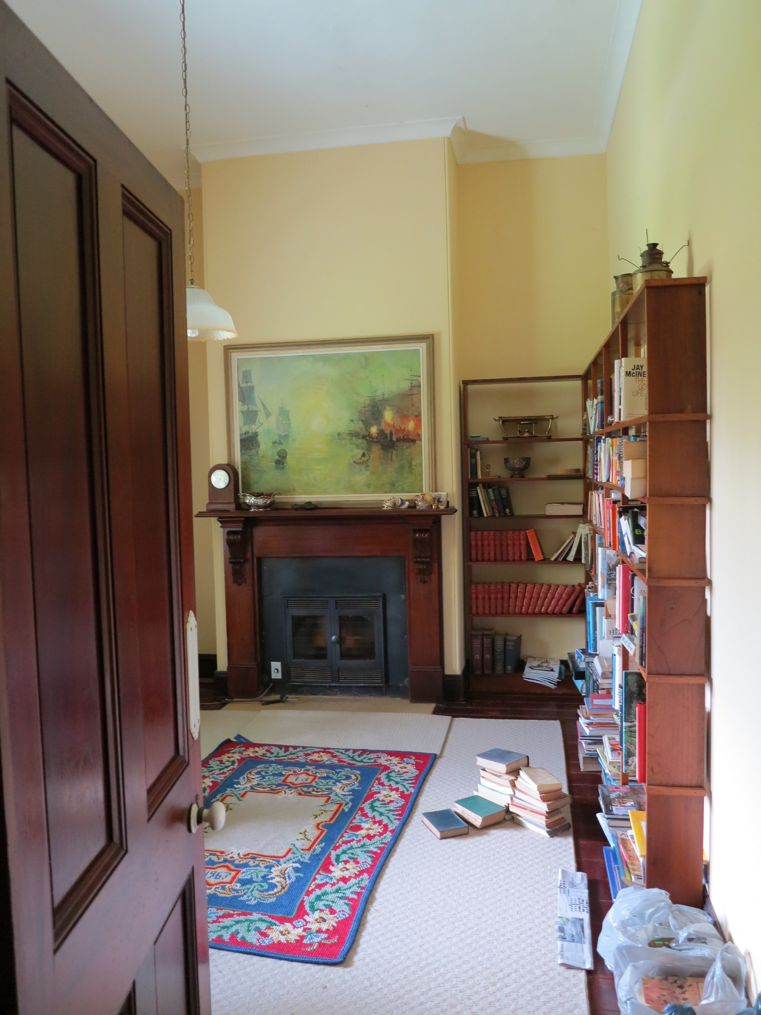The study. Before.