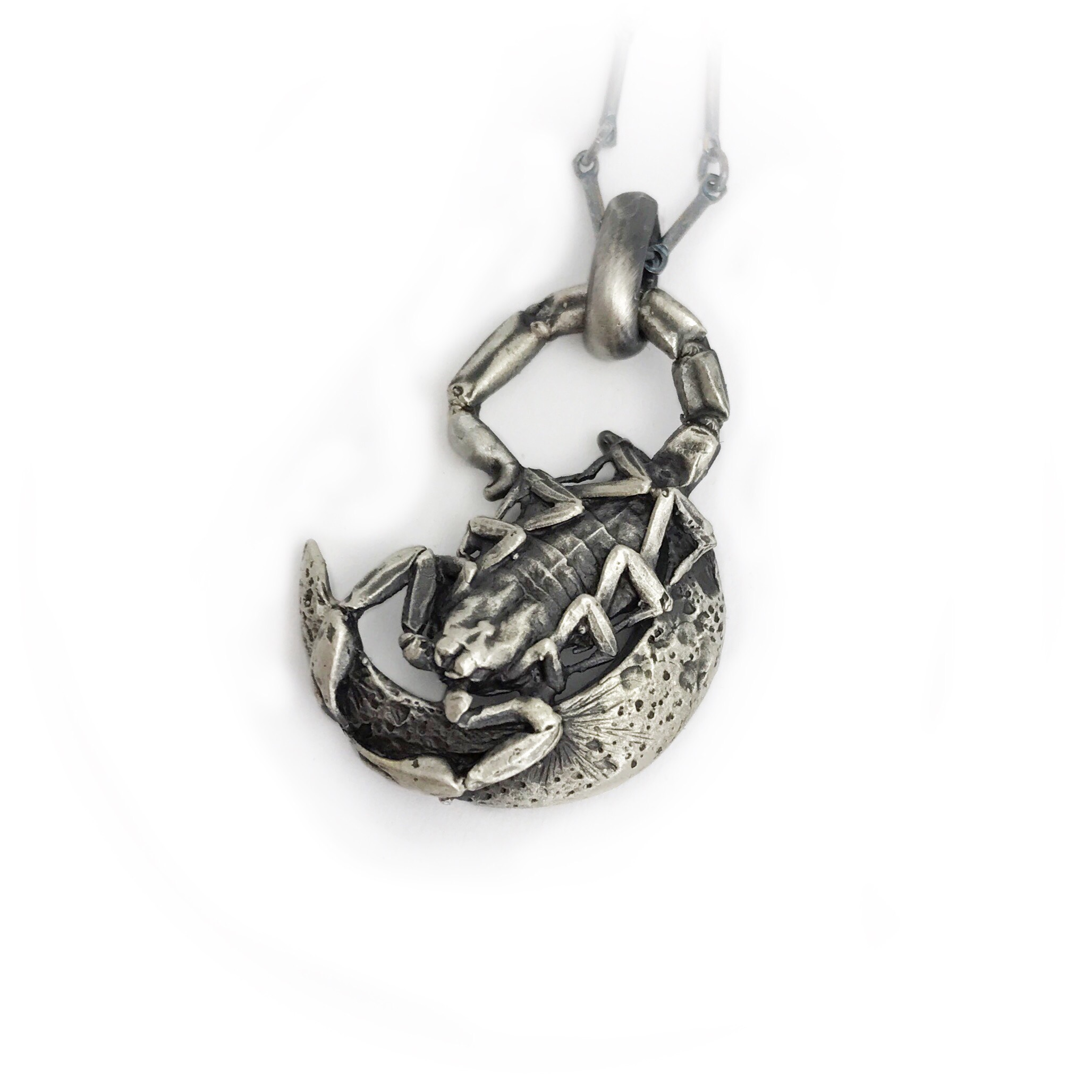 Scorpion Moon Necklace