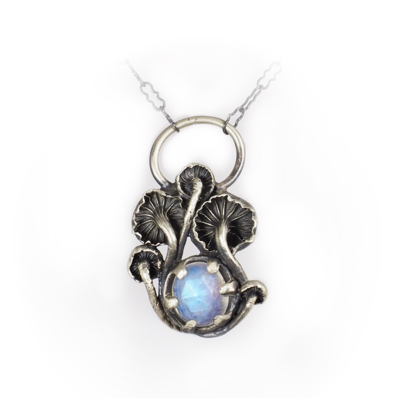Mushroom Stone Necklace