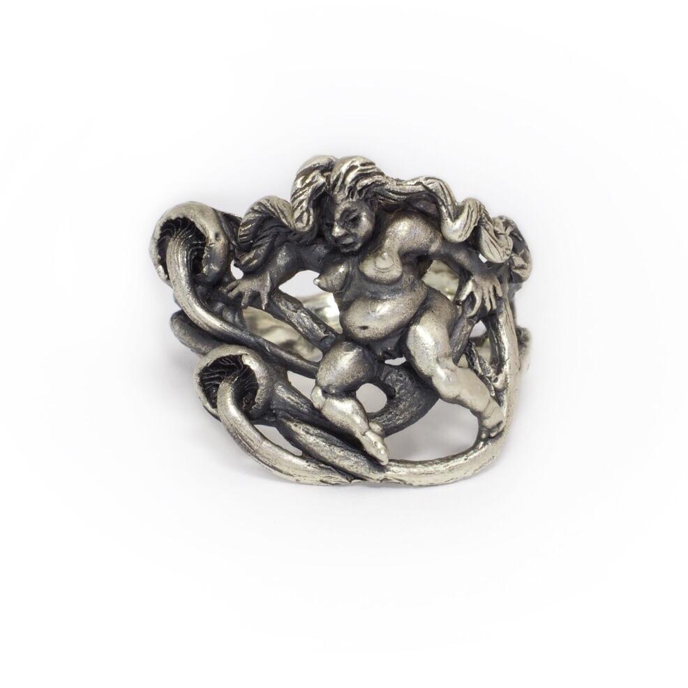 Mushroom Nudie Ring