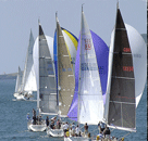 Three boats to a team six boats two teams