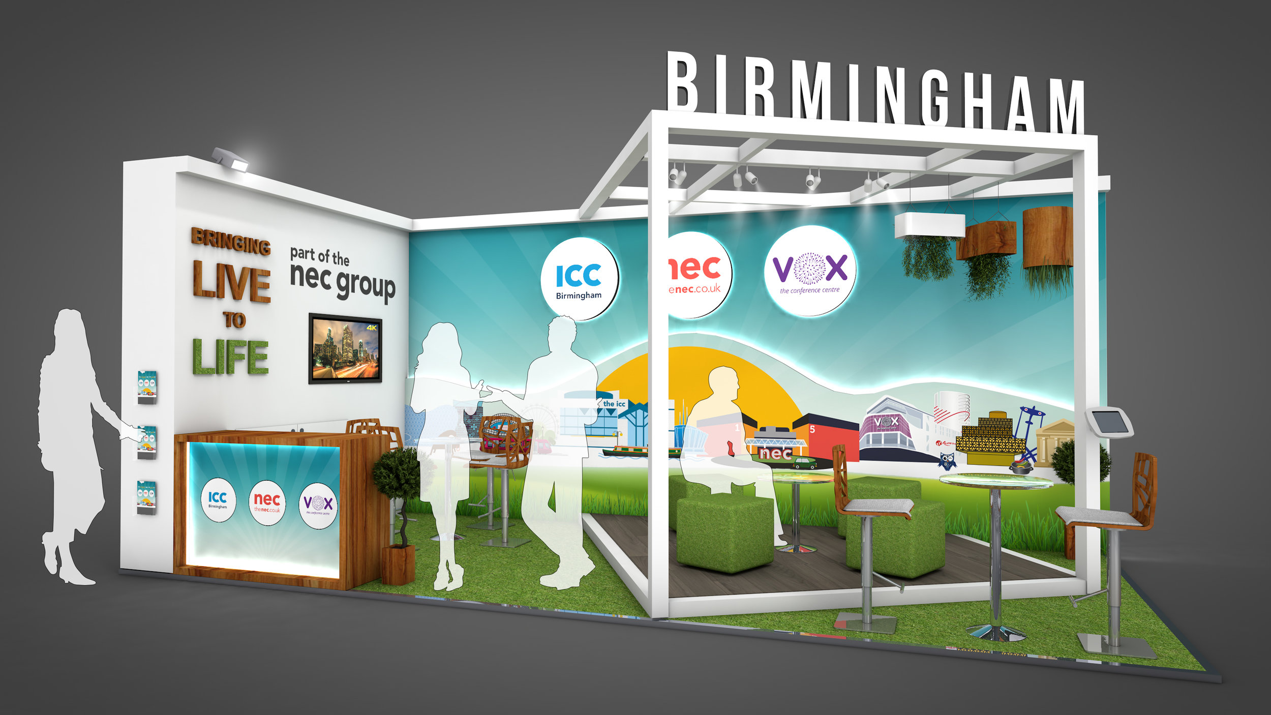 NEC Group Exhibition Stand