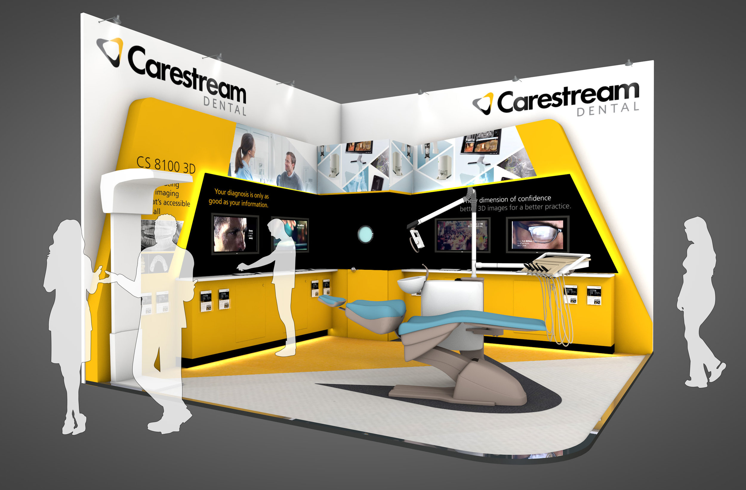 Carestream Exhibition Stand