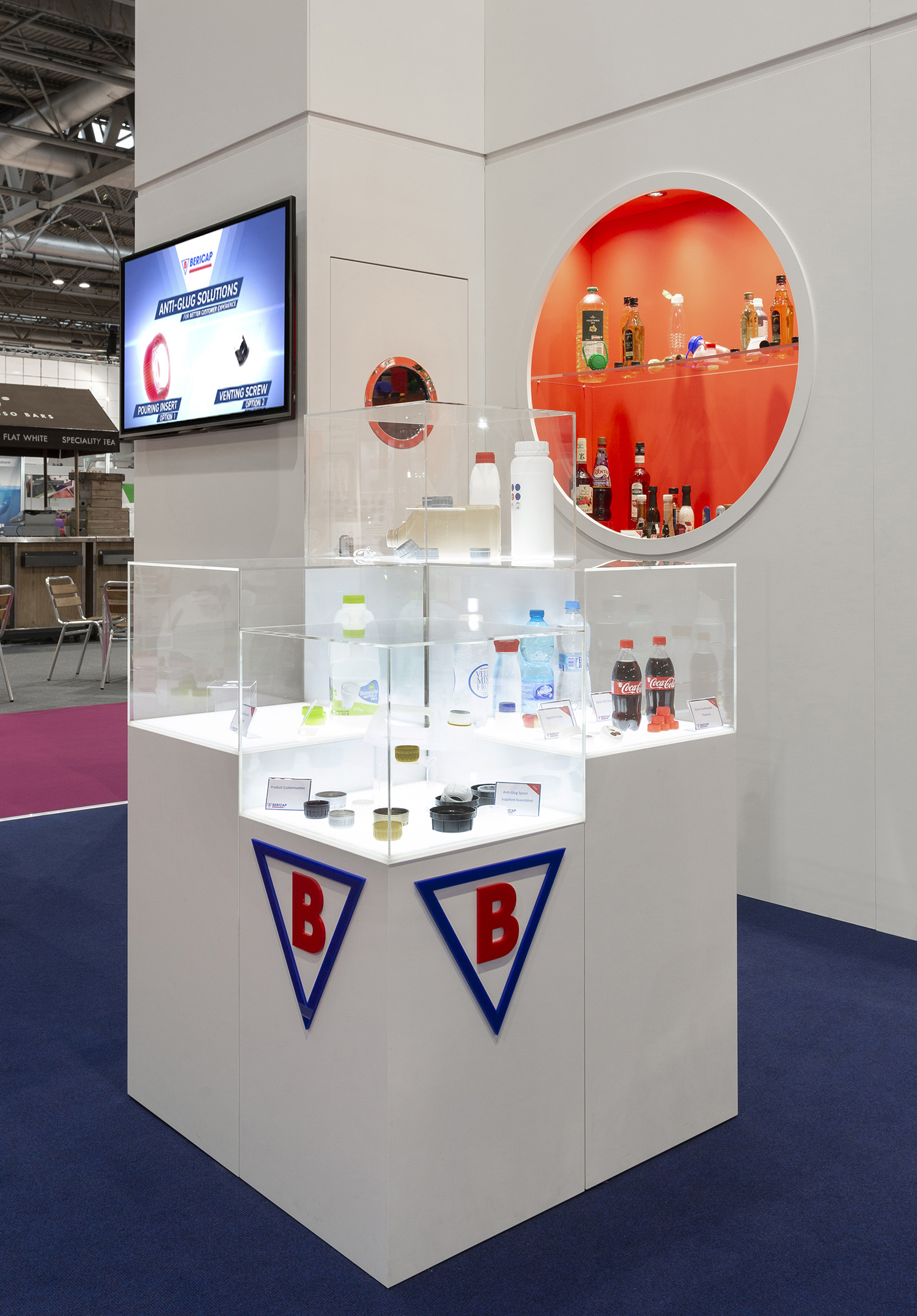 Bericap UK exhibition stand