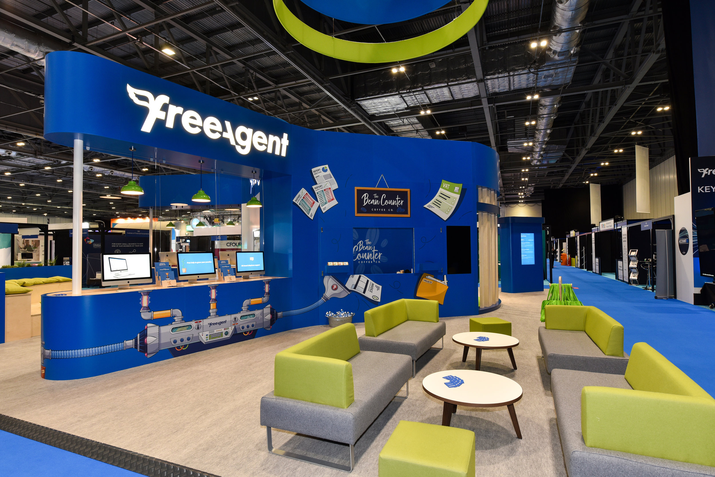 Freeagent Exhibition Stand