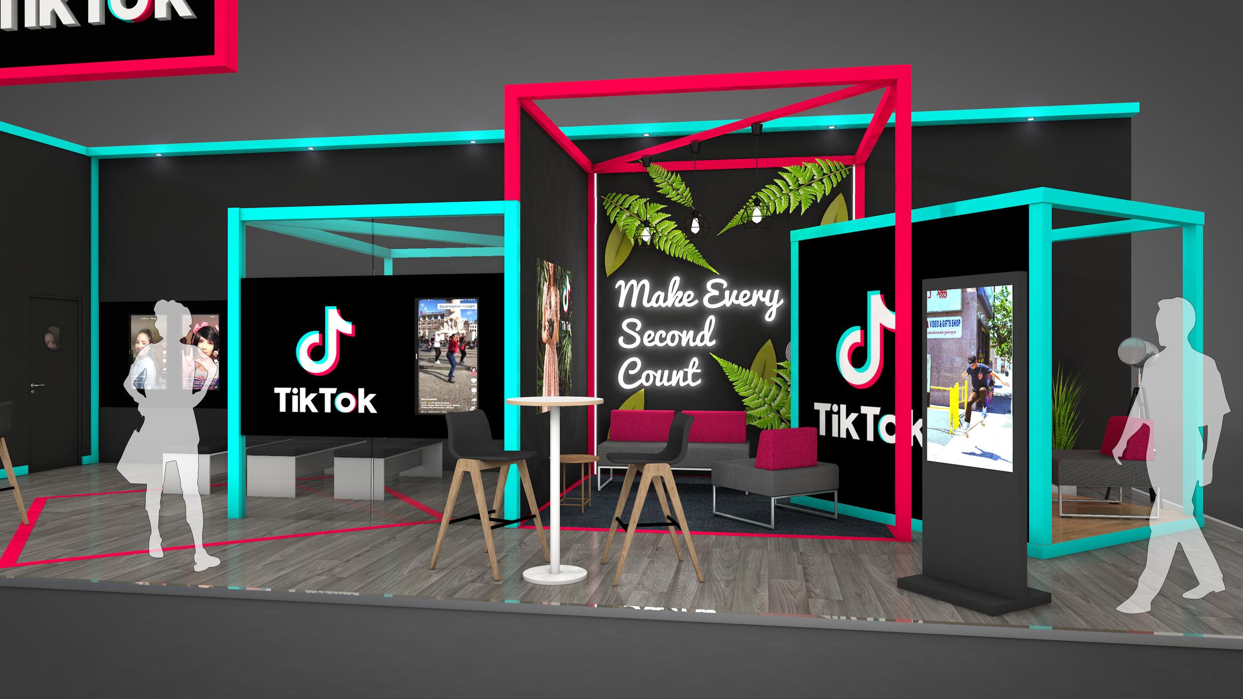 TikTok Exhibition Stand