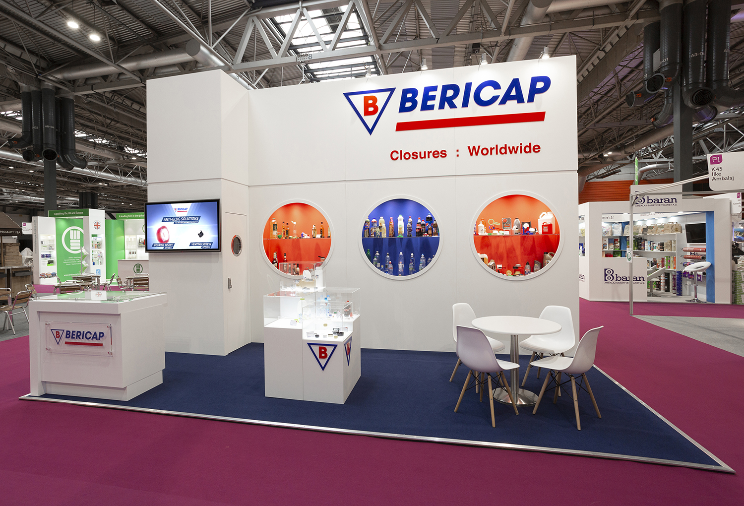 Bericap Exhibition Stand
