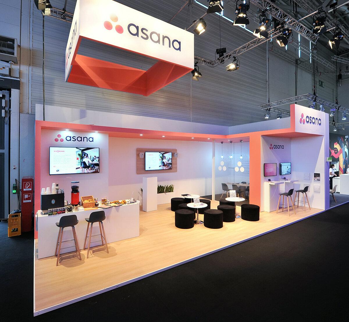 Asana Exhibition Stand