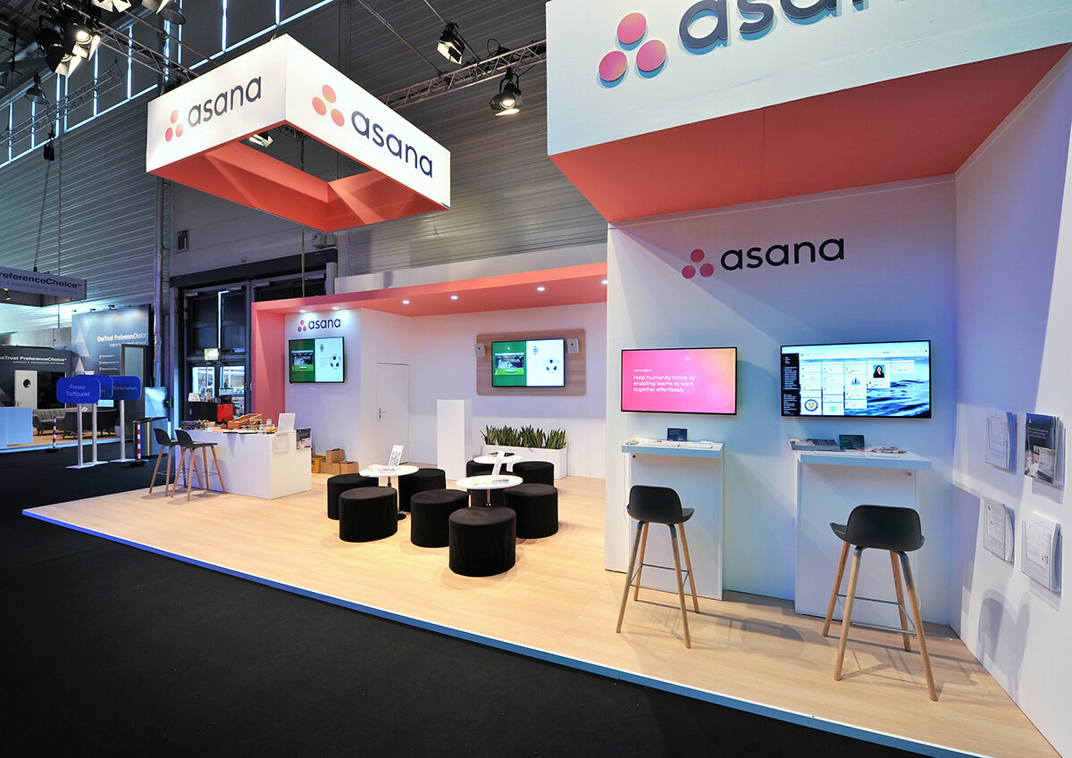 Asana Exhibition Stand