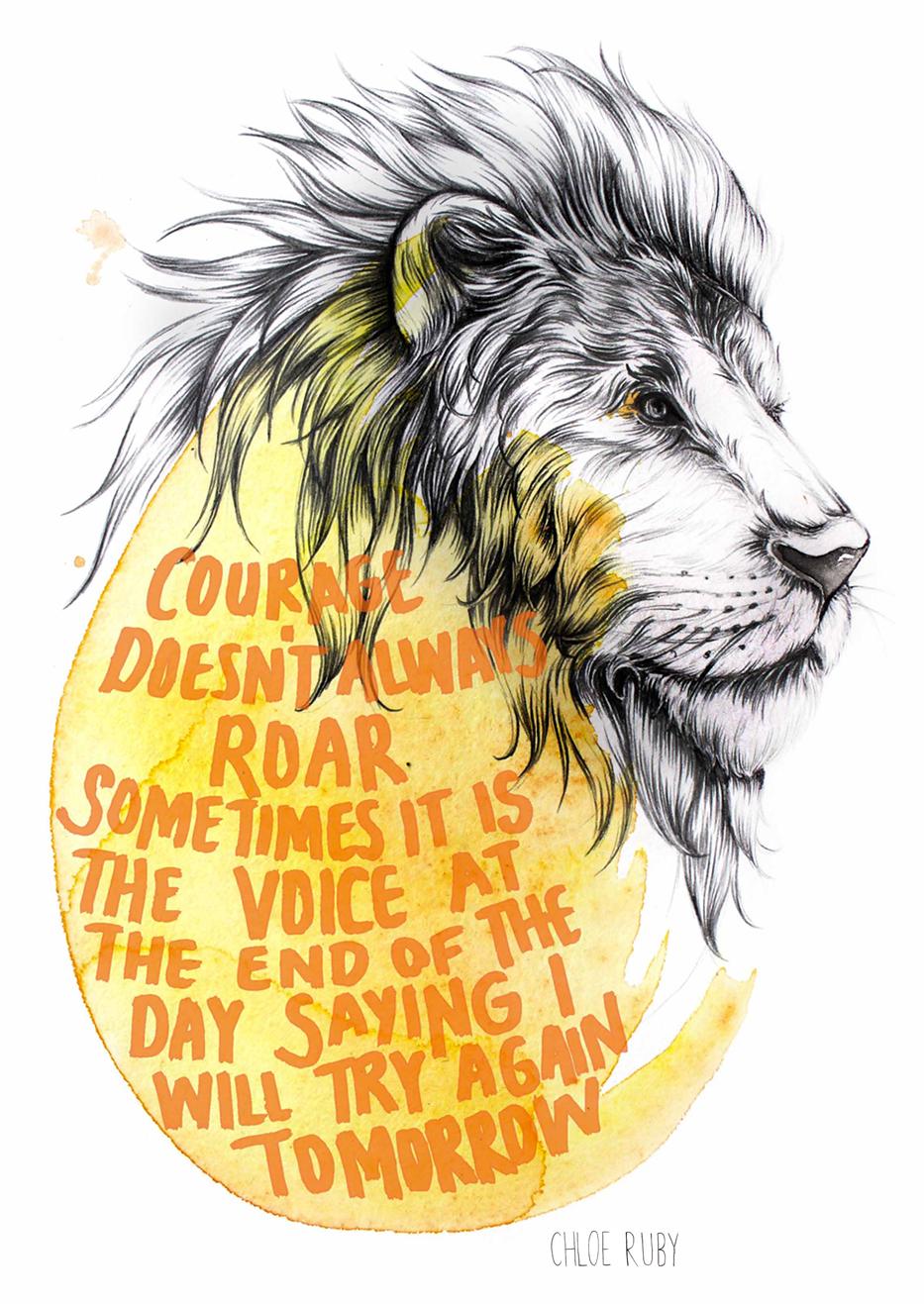 Chloe-Ruby-courage-roar