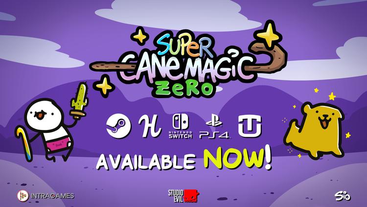 Super Cane Magic ZERO — Super Cane Magic ZERO