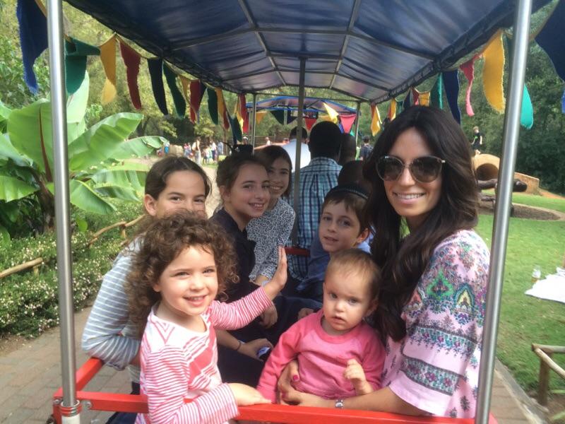 Train Ride around The Botanical Gardens!