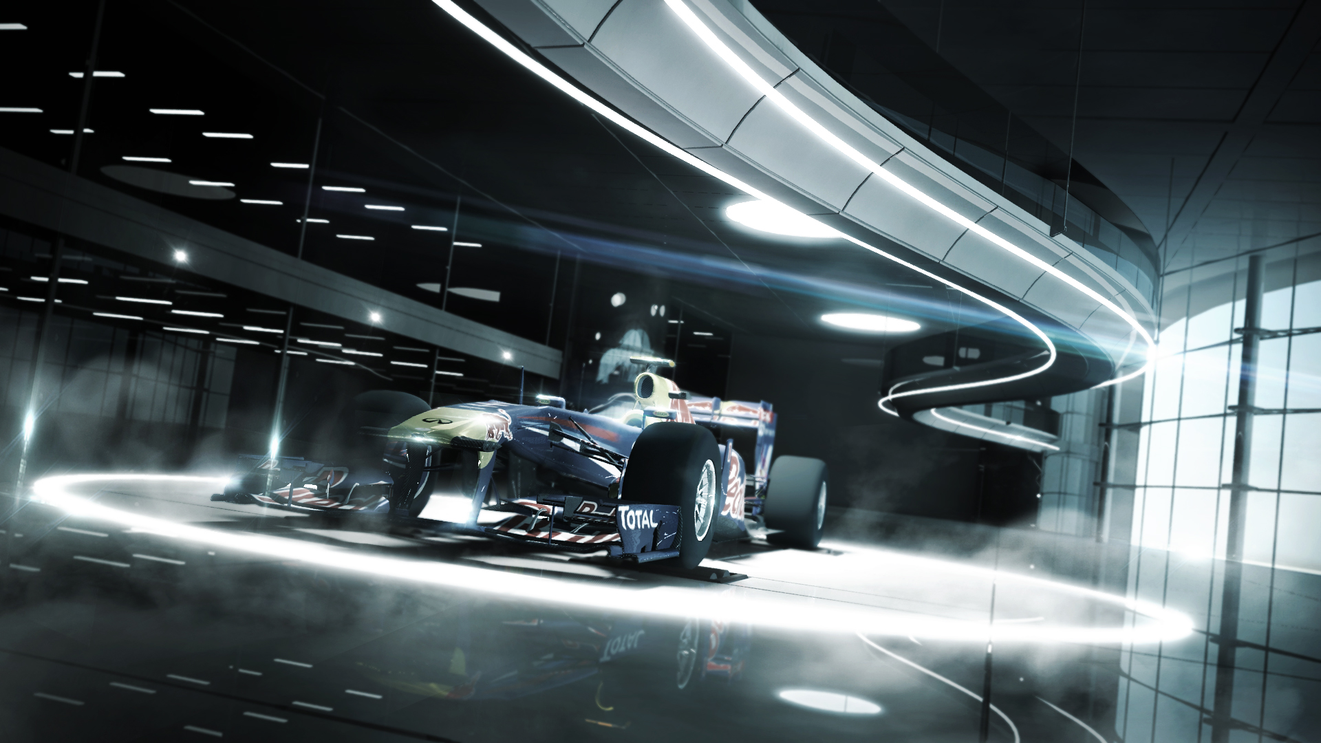 """We referred to this environment as the """"Tech Center"""" - its inspired by the McLaren offices in the UK."""