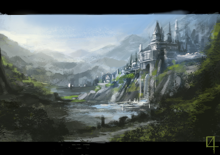 The Stronghold of the Order of the Green Flame.