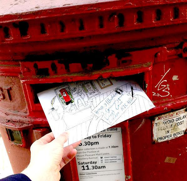 pushing the envelope letter box