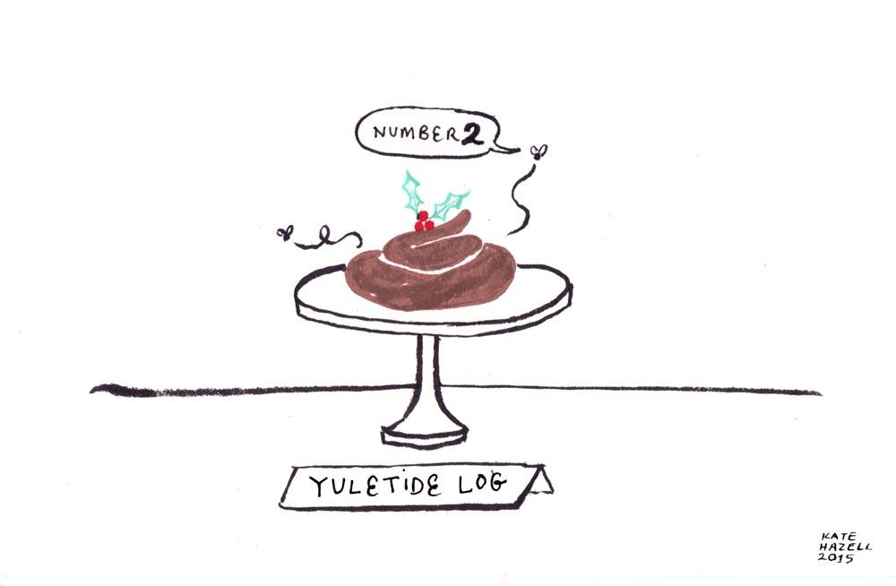 2.Yuletide log_KATE HAZELL_BADVENT_2015.jpg