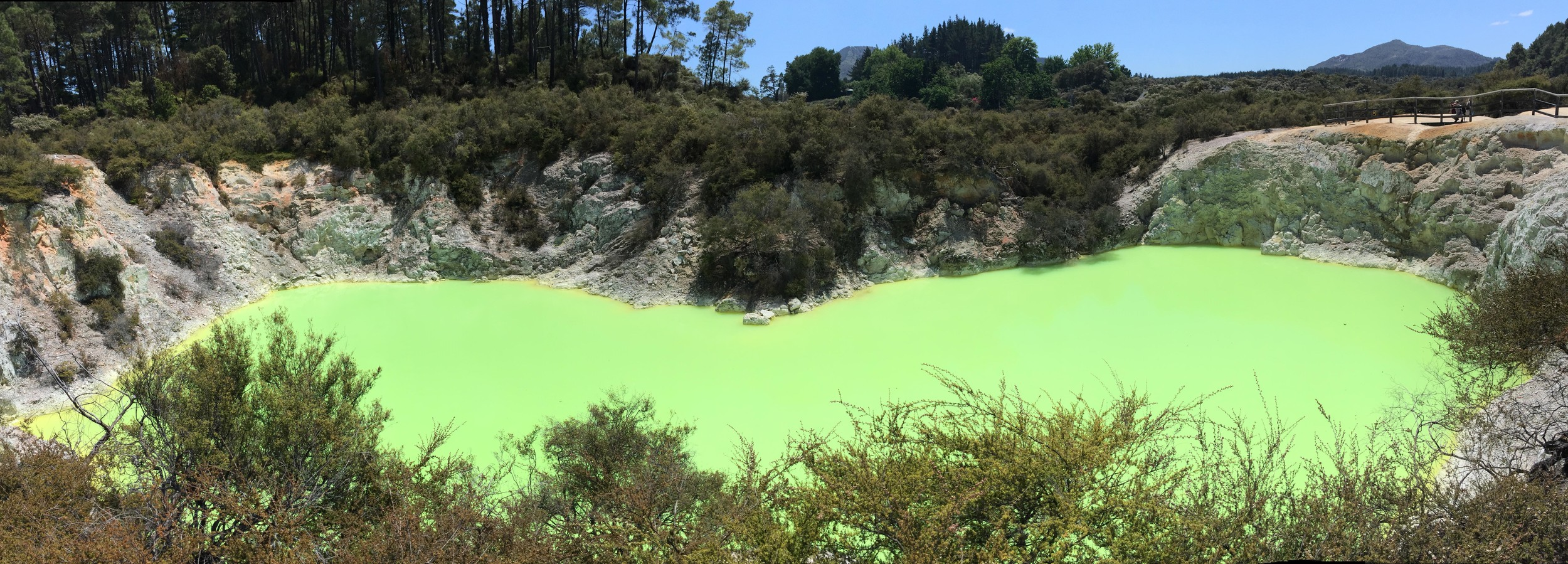 The Devil's Bath, Waiotapu