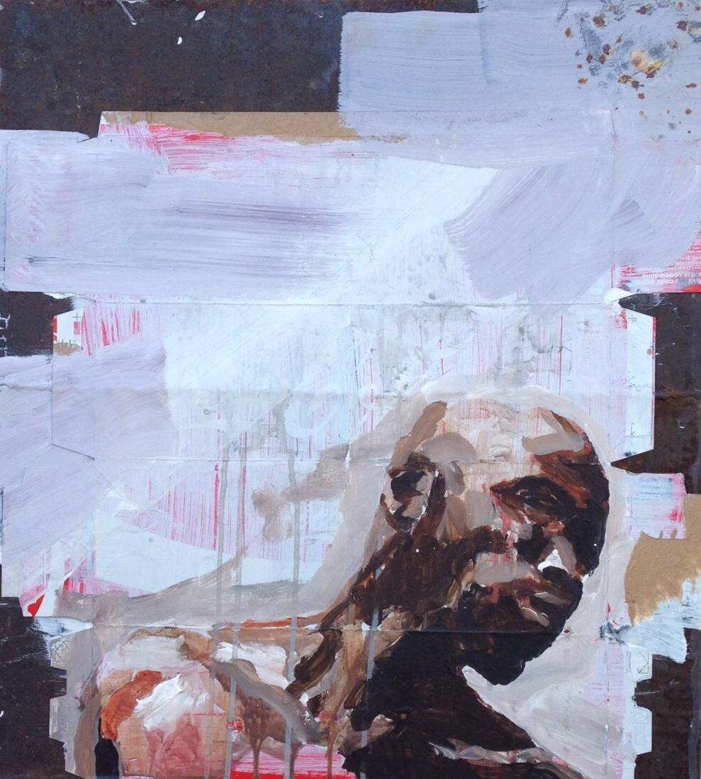 Aldo van den Broek, Beautiful Distress II, 61 x 55 cm 2015